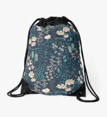 Flower Garden 004 Drawstring Bag