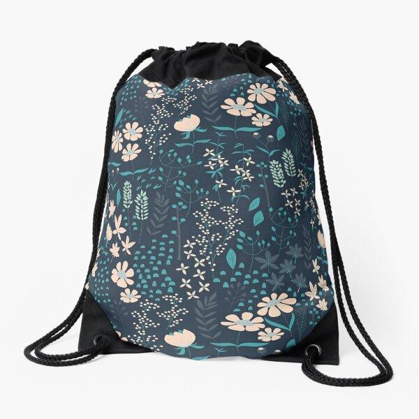 Flower Garden 004 Drawstring Bag