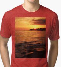 Laguna Sunset Tri-blend T-Shirt
