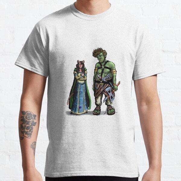 Blumken & Helvetica Concept Art Classic T-Shirt