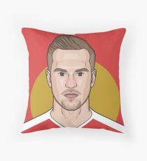 Aaron Ramsey Throw Pillow