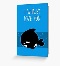 Ich liebe dich Grußkarte