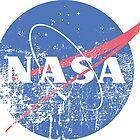 Distressed Nasa Logo by brighterorigin