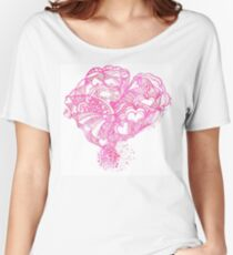 Pinky Hearty Weather Women's Relaxed Fit T-Shirt