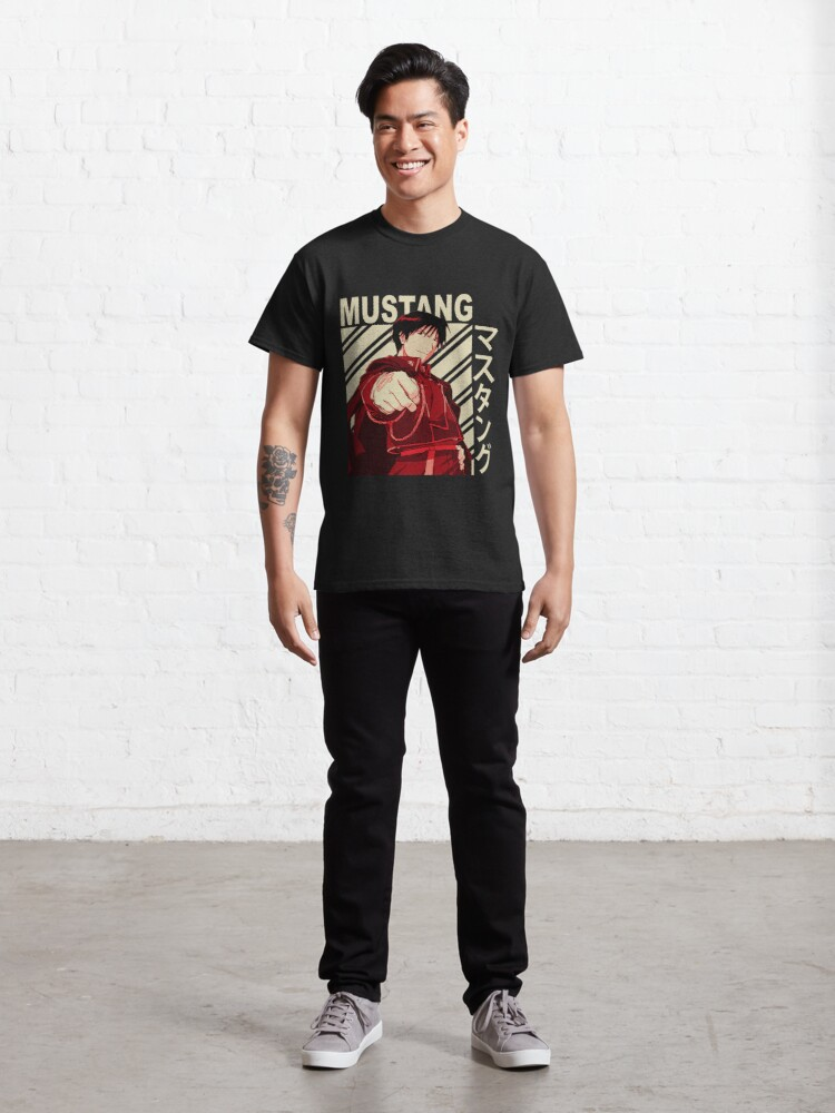 Alternate view of Roy Mustang - Vintage Art Classic T-Shirt