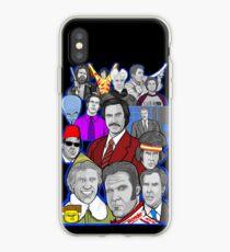 Vinilo o funda para iPhone Will Ferrell collage arte tributo