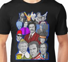 Will Ferrell collage art tribute Unisex T-Shirt