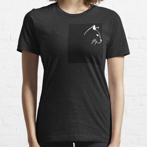 WEISSES Katzen-T-Shirt Essential T-Shirt