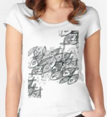 FISH mood Women's Fitted Scoop T-Shirt