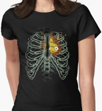 Calcifer - Howl's moving castle Women's Fitted T-Shirt