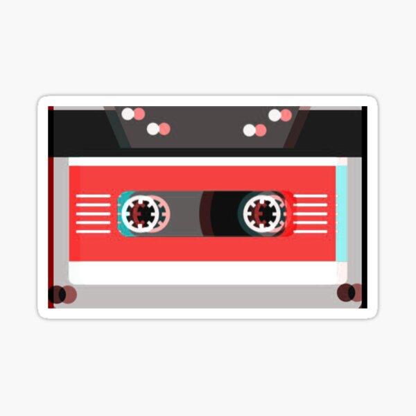 Trippy Cassette Sticker