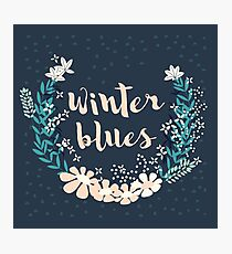 Winter Blues 004 Photographic Print