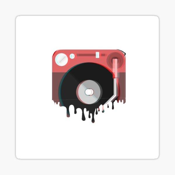 Vinyl Drip Sticker