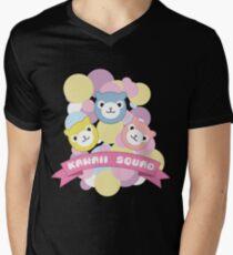 Kawaii Squad Alpaca Pastel Arpakasso Cute Pixel Mens V-Neck T-Shirt
