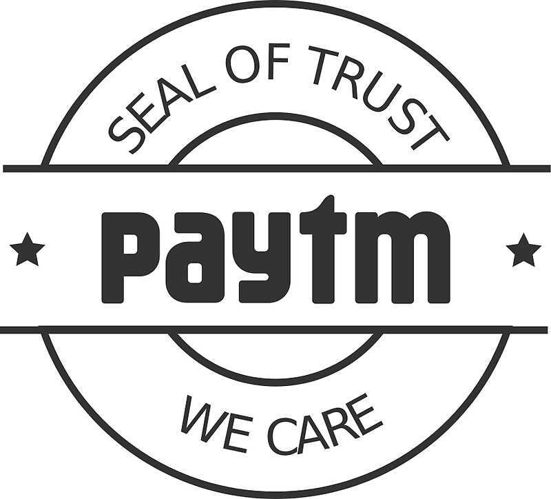 Quot Paytm Seal Of Trust Quot Stickers By Omok Redbubble