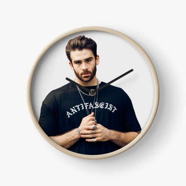 hasan piker antifascist shirt Clock