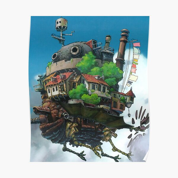 This Is Flying Castle In Sky Poster