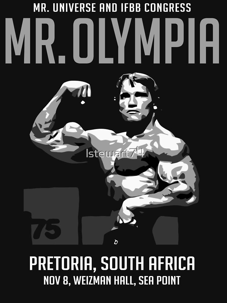 Arnold Schwarzenegger 1975 Mr. Olympia  | Unisex T-Shirt
