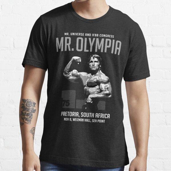 ZYWL Arnold Schwarzenegger Mr Olympia Premium Maillot de Bain /à Jambe carr/ée /à s/échage Rapide et /à s/échage Rapide Boxer Maillots de Bain Homme Gar/çon