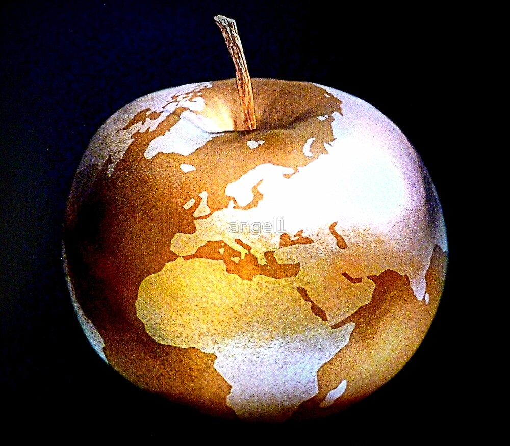 World Apple by ©The Creative  Minds