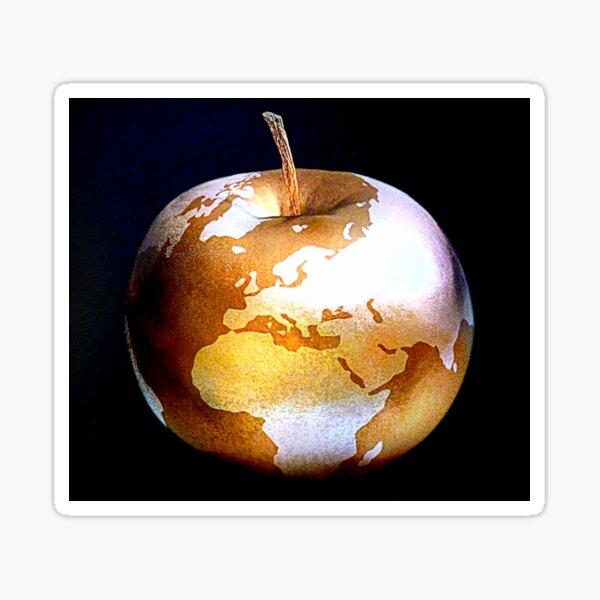 World Apple Sticker