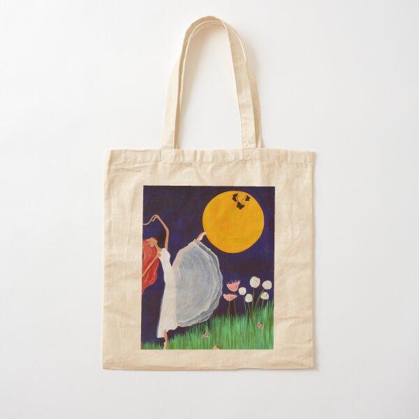 Moon Dance Cotton Tote Bag