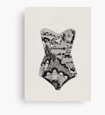 Lingerie Canvas Print