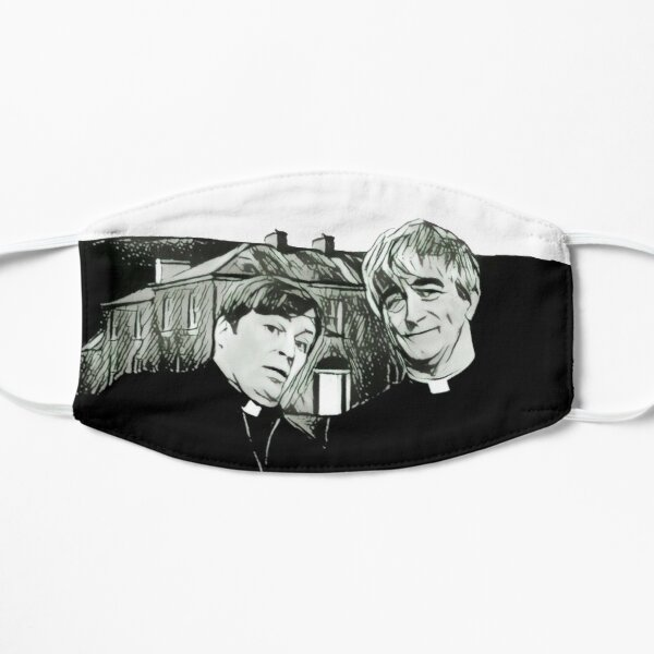 Ted and Dougal from Craggy Island Sketch Flat Mask