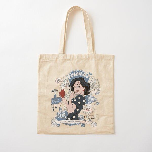 Betty Cliche Cotton Tote Bag