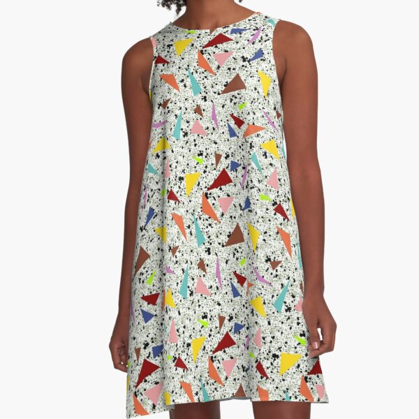 Sierra Style: Casino Terrazzo A-Line Dress