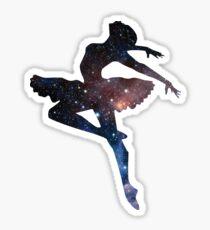 Ballerina - Universe  Sticker
