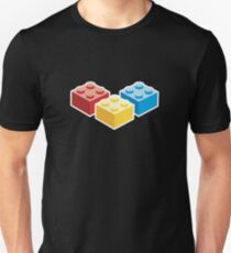 3 Bricks on dark background T-Shirt