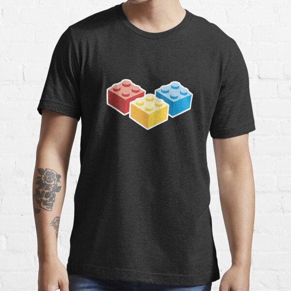 3 Bricks on dark background Essential T-Shirt
