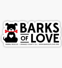 Barks of Love Stickers Sticker