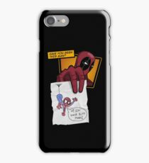 Dead Poll (Web Version) iPhone Case/Skin
