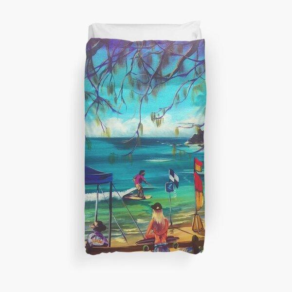 Longboard Classic Agnes Water 2017 Duvet Cover