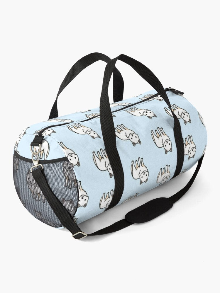 Alternate view of Arctic Wolf Duffle Bag