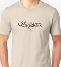 G. K. Chesterton - Signature T-Shirt