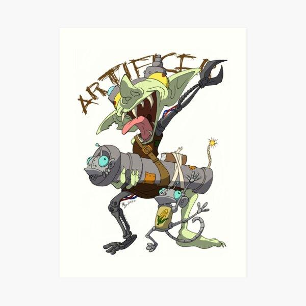 Goblin Artificer Art Print