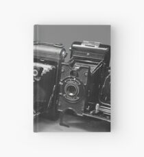 Vintage cameras photography design Hardcover Journal