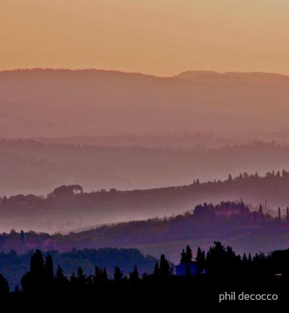 Dusky Tuscany by phil decocco