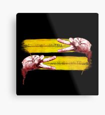 You Never can tell (Pulp Fiction Finger dance) Metal Print