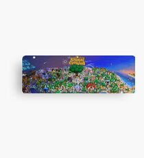 Animal Crossing Poster Canvas Print