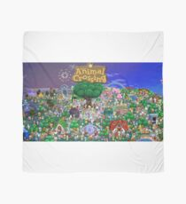 Animal Crossing Poster Scarf