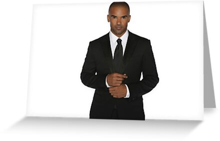 Shemar Moore Greeting Cards By Miamulin57 Redbubble