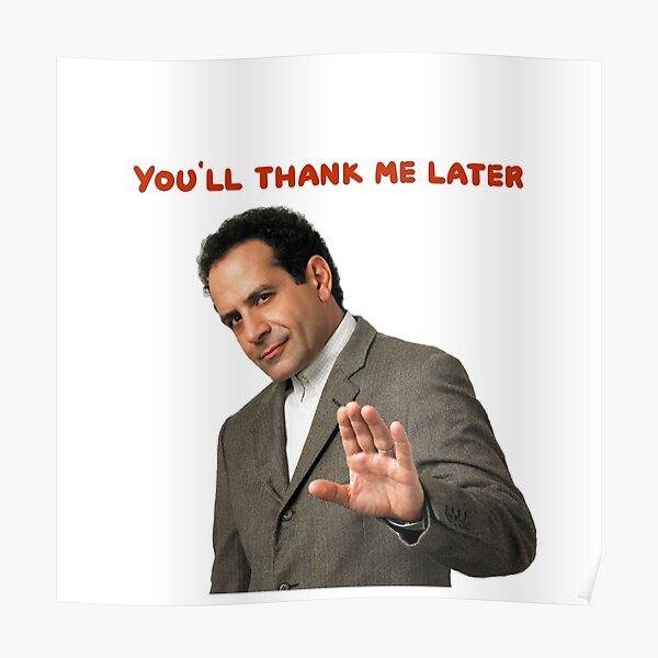 Monk: Me lo agradecerás más tarde . camisetas y accesorios geniales Póster