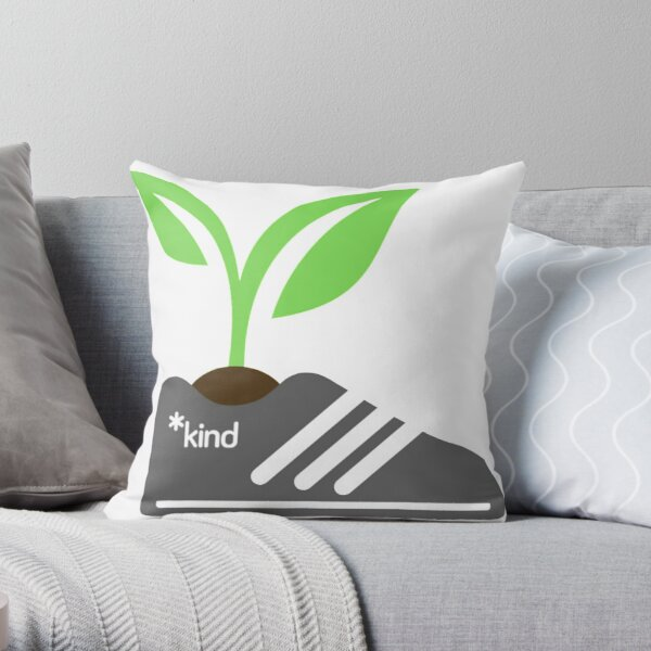 Growing Resistance (white letters) Throw Pillow