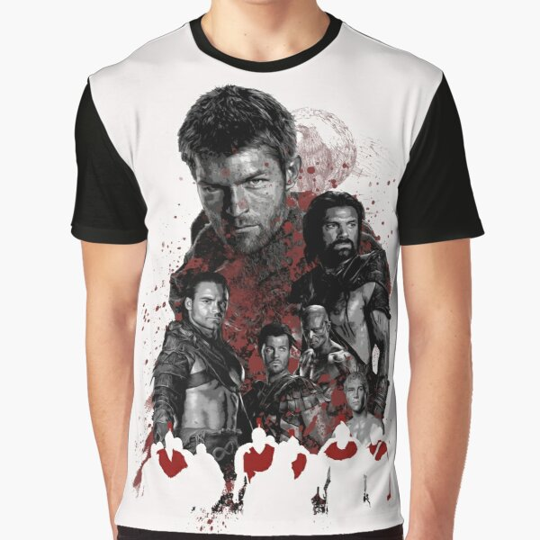 Spartacus and his rebel leaders Graphic T-Shirt