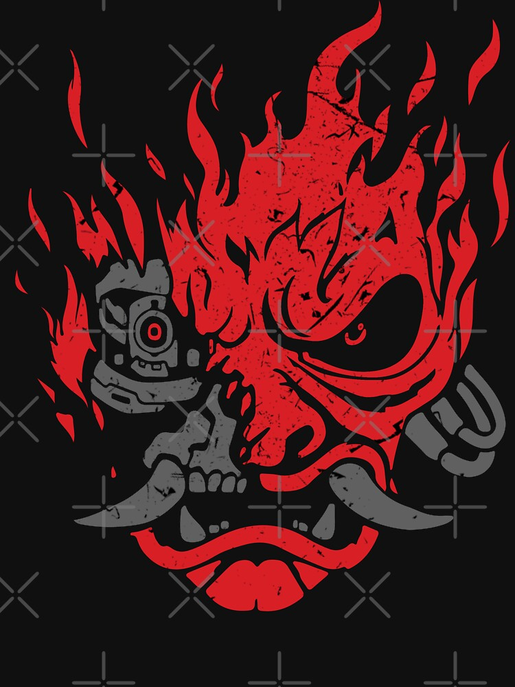 Samurai Oni Mask by WishingInkwell