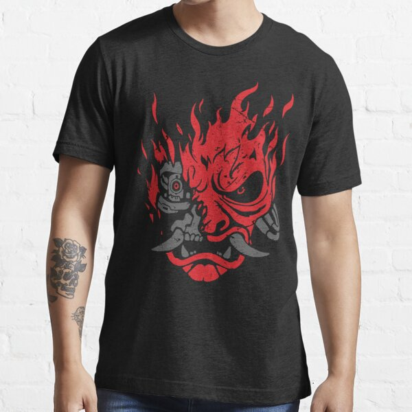 Samurai Oni Mask Essential T-Shirt